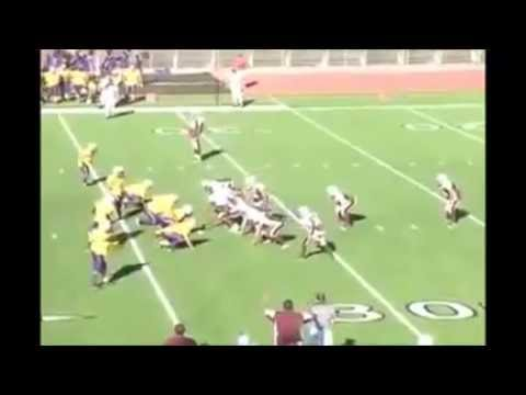 Quarterback pranks and TOUCHDOWN. Is this yellow flag?