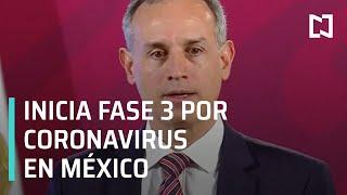 Decretan Fase 3 por Coronavirus: Gobierno de México - Despierta