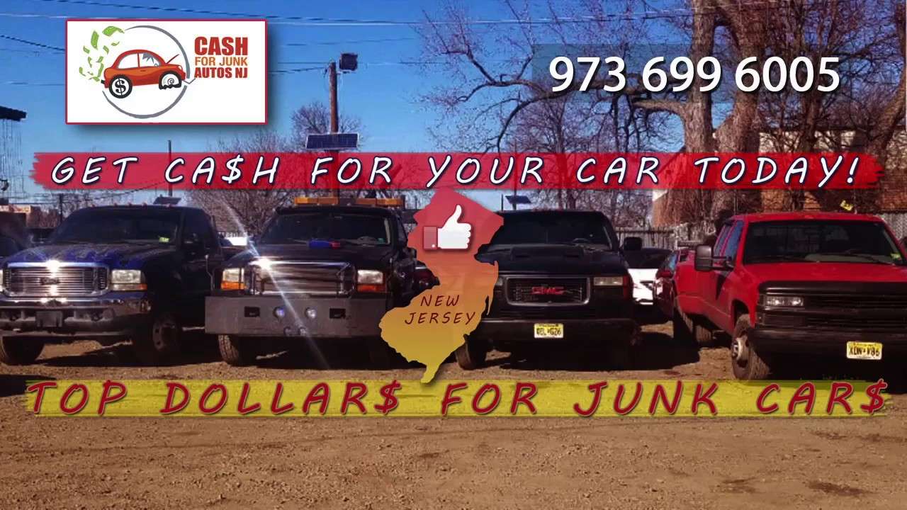 cash for junk autos NJ - YouTube