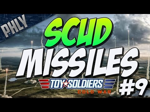 SCUD MISSLE ARTILLERY (Toy Soldiers: Cold War Gameplay #9)