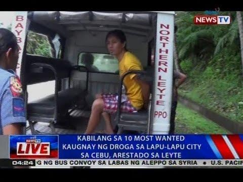 NTVL: Kabilang sa 10 most wanted kaugnay ng droga sa Lapu-Lapu City sa Cebu, arestado sa Leyte