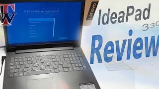 Lenovo Ideapad 330 - Unboxing, Setup & Review