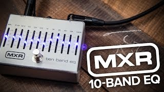 Strings Direct TV | MXR M108s 10-Band EQ pedal for Guitar & Bass