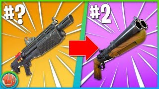 TOP 10 BESTE WAPENS IN FORTNITE!! [SEASON 5] - Fortnite: Battle Royale
