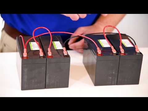 Wiring Batteries Series Vs Parallel Part Two Youtube