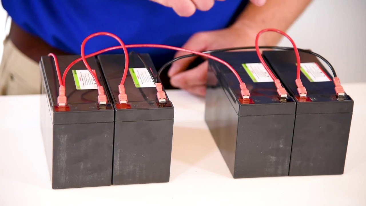 Wiring Batteries: Series vs Parallel (Part Two) on