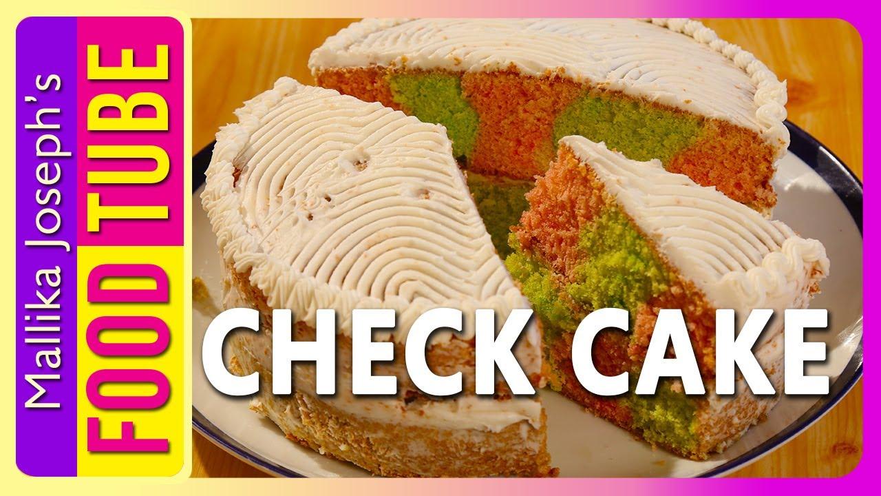 Check Cake Recipe | Mallika Joseph Food Tube - YouTube