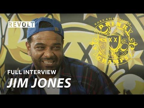 Jim Jones | Drink Champs (Full Episode)