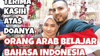 TERIMA KASIH ATAS DOANYA | ORANG ARAB BELAJAR BAHASA INDONESIA | VLOG BAHASA INDONESIA