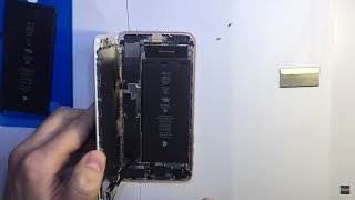 iPhone 8 plus - замена аккумулятора / battery replacement