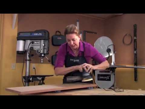Power Sanding Tip - How Fast Should You Move the Sander?