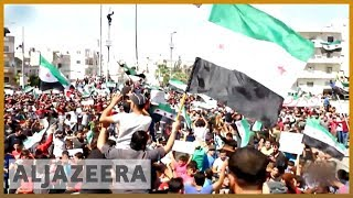 Thousands rally against looming offensive on northwest Syria   Al Jazeera English thumbnail