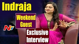 Actress Indraja Exclusive Interview || Shatamanam Bhavati || Weekend Guest || NTV