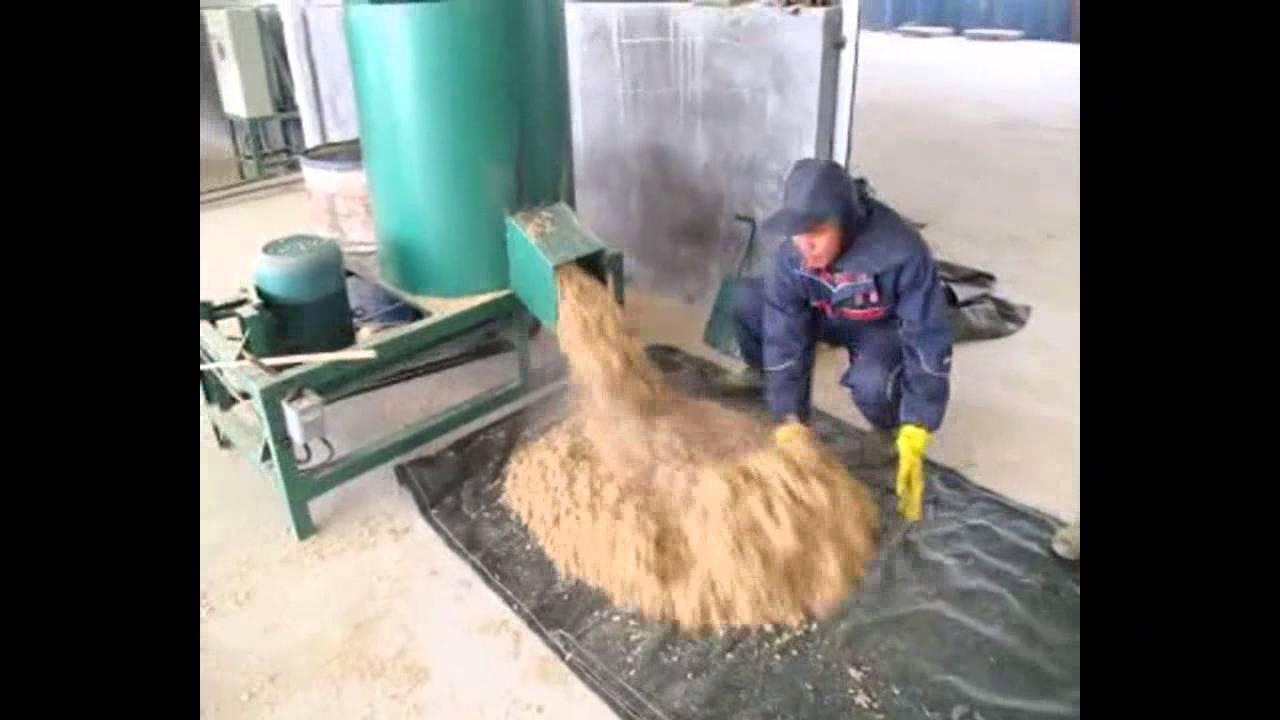 sawdust pallet block making machine, wood recycling machine