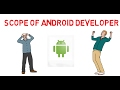 Scope of Android Developer and skills re