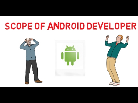 Scope of Android Developer and skills required to be Android Developer