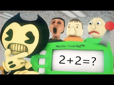 [SFM/ BALDI] BENY AND THE INK MACHINE VS BALD'S BASICs IN LEARNING (Origila Animation)