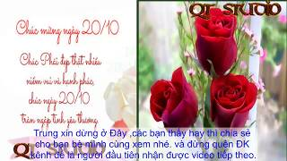 Ngày 20/10- Lời chúc hay nhất -Cho chị em phụ Nữ