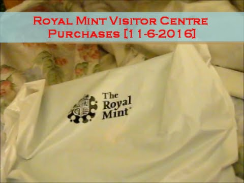 My Royal Mint Visitor Centre Purchases [11-6-2016]