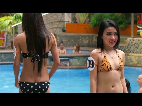 Angeles City Pool Party 'Miss Billabong' at Score Birds Hotel