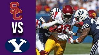 Week 3 2019 #24 USC vs BYU Full Game Highlights 9/14/2019