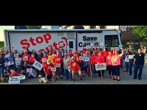 Canadian Postal Workers Stop Privatization & Vision For Future