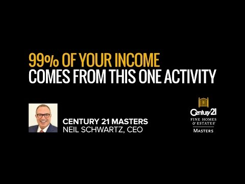 Real Estate Training - 99% Of Your Income Comes From This One Activity