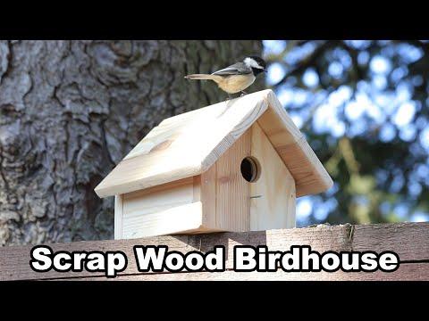 scrap-wood-birdhouse-using-basic-tools---diy