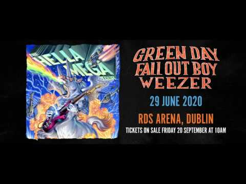 Green Day Tour 2020.Green Day Fall Out Boy Weezer Rds Dublin