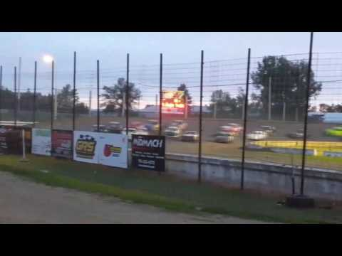 Jamestown Speedway Wall Ride