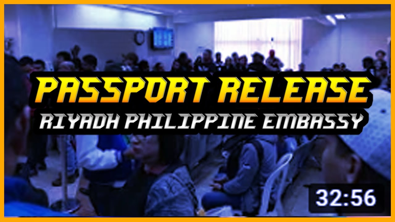 Philippine embassy riyadh passport release