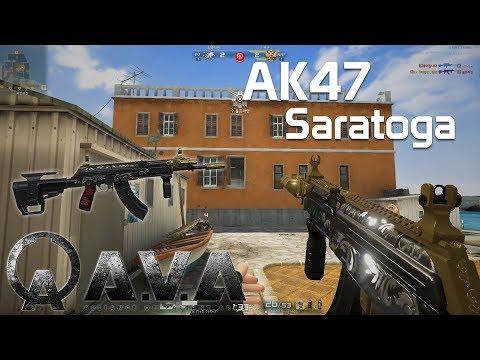 [AVA] AK47 Saratoga Play Clip - 아바온라인 VIP 맛스타 / 맛사라토가 (Alliance of Valiant Arms)