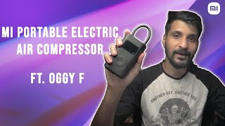 Mi Portable Electric Air Compressor Review ft Oggy