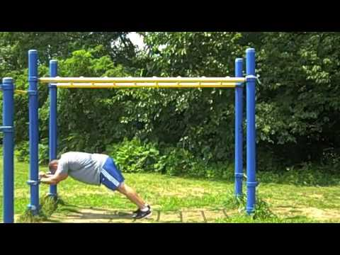 Playground Workout - Hunting for Old School Playgrounds