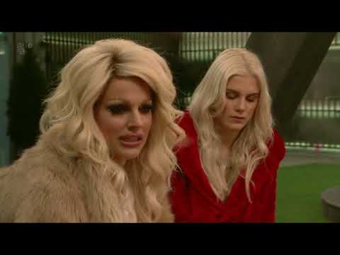 Every moment of Courtney Act on Celebrity Big Brother S21 E6