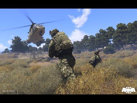 ARMA 3 King of Hills c Пусей и таджиками.