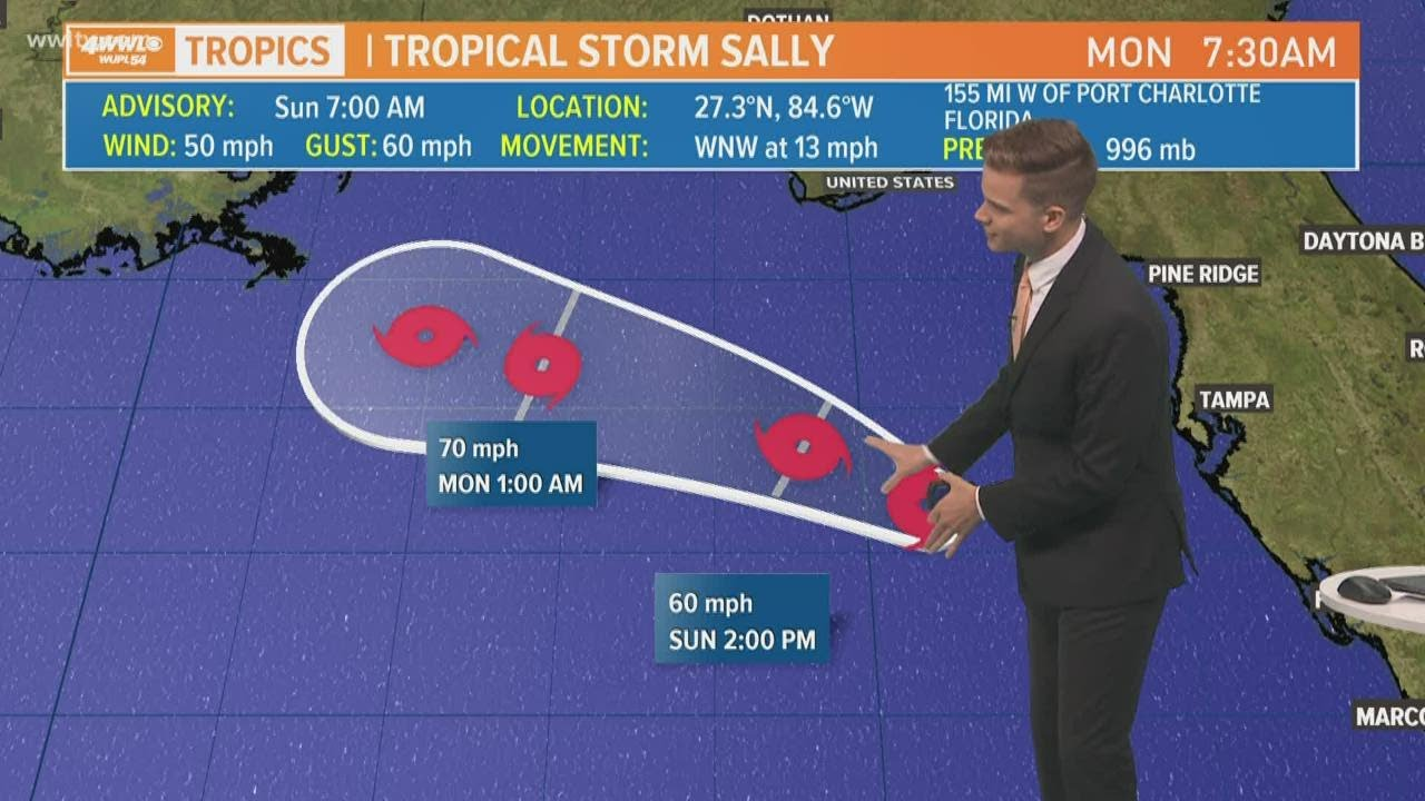 Gulf Coast bracing for flooding, more as Hurricane Sally churns ...
