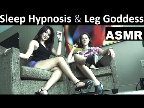 ASMR Hypnosis for relaxation and deep sleep with two female hypnotists