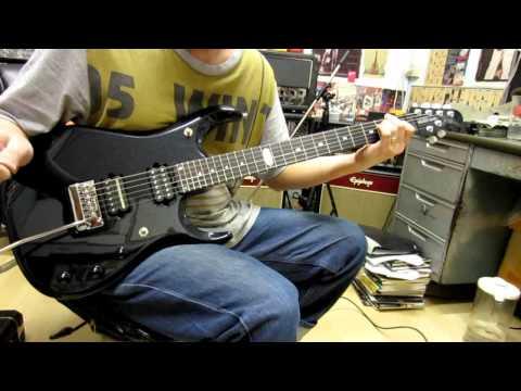 Music Man Jpxi John Petrucci Signature Guitar Clean Sound