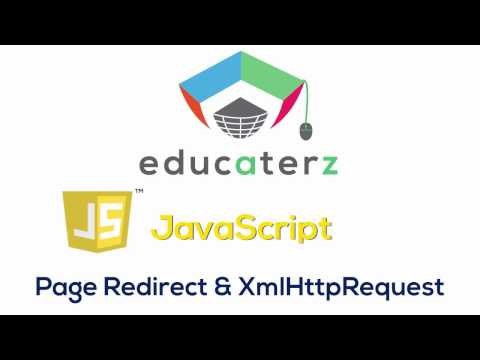 JavaScript Tutorial for Beginners - 20 PageRedirect and XmlHttpRequest in JavaScript