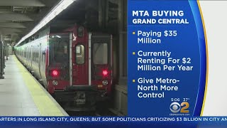 MTA Buying Grand Central Terminal