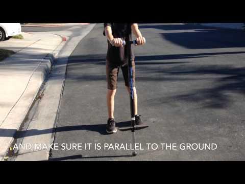 How To Use a Pogo Stick