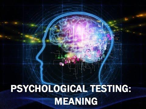 PSYCHOLOGICAL TESTING-1