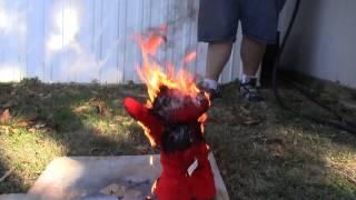 Elmo Destruction WARNING! NOT FOR SMALL CHILDREN