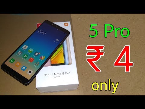 ₹ 4 only | Redmi Note 5 Pro only rs 4 | Latest Tricks