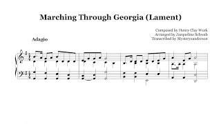 Marching Through Georgia (Lament) :: Piano