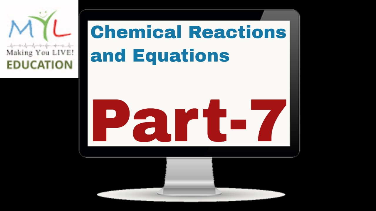 chemical reactions and equations cbse pdf