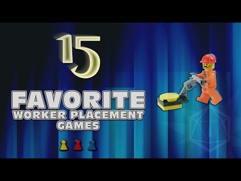 Roll to Hit Favorite 15 - Worker Placement Games