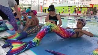 Cours pour apprendre à nager comme une sirène avec Paradis Sirène