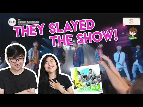 BTS  - DNA at 'American Music Awards' Live Performance Reaction! [EVERYONE JUMP!? WOW!!]